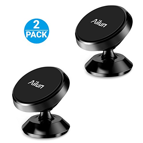 Ailun Car Phone Mount Holder 2Pack Magnet Dashboard Mount 360