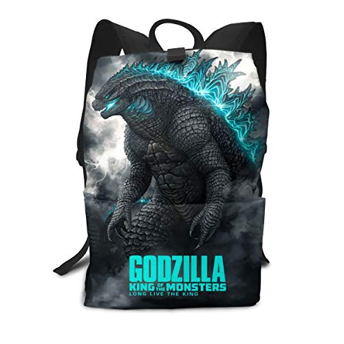 Godzilla 2019 Fan Art Bookbag Daypack Backpack School Bag