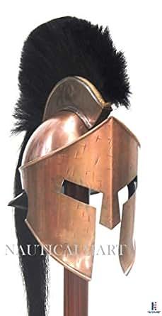 """300"" King Leonidas Spartan Medieval Greek Roman Helmet Reenactment By Nauticalmart"