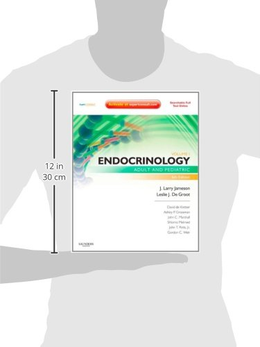 Endocrinology, 2-Volume Set: Adult and Pediatric, Expert Consult Premium Edition - Enhanced Online F