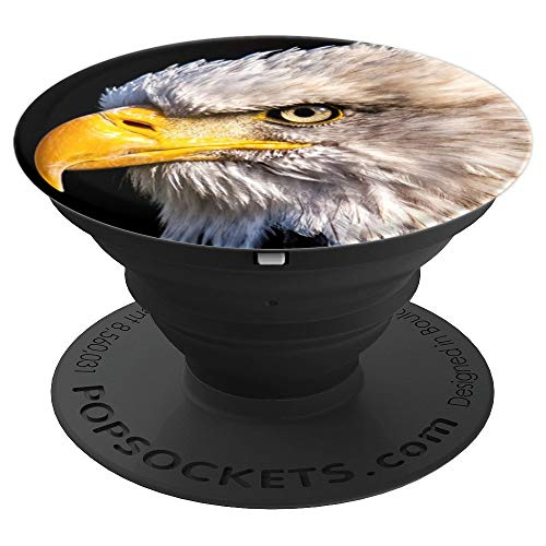 Adler White Tailed Eagle Bald Eagle Bird Raptor American - PopSockets Grip and Stand for Phones and Tablets