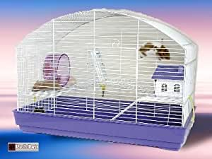 Amazon.com : San Remo Hamster Cage Large Pet Cage Mice Gerbil Mouse : Birdcages : Pet Supplies