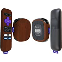 Skinomi TechSkin - Roku SE Dark Wood Full Body Skin / Front & Back Wrap Clear Film / Ultra HD and Anti-Bubble Invisible Shield