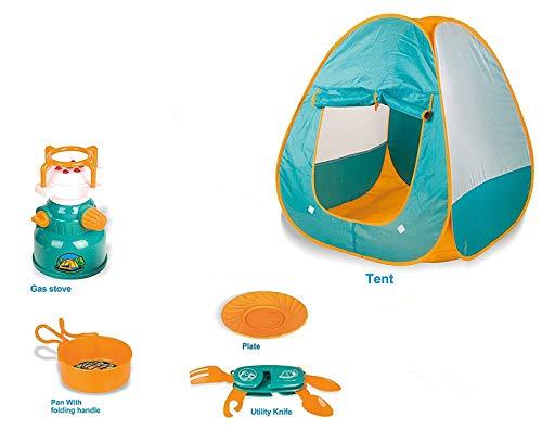 SULULU Tienda de campaña para niños Tienda de campaña de campaña pequeña Tienda de campaña exploratoria para niños con...