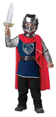 California Costumes Gallant Knight Toddler Costume, 3-4