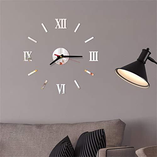 - OTTATAT Wall Stickers for Bedroom 2019,3D DIY Roman Numbers Acrylic Mirror Clock Home Decor Mural Decals Easy to Stick Independence Day Couple Suite Gift for Lover Free Deliver On Sale