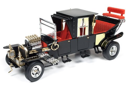 Autoworld AW233 George Barris Munsters Koach 1/18 Diecast Model Car from Auto World