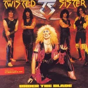 twisted sister under the blade by twisted sister music. Black Bedroom Furniture Sets. Home Design Ideas