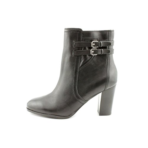 Ankle Kattie Fashion Marc Fisher Leather Womens Black Boots n5Xqv8wO6v