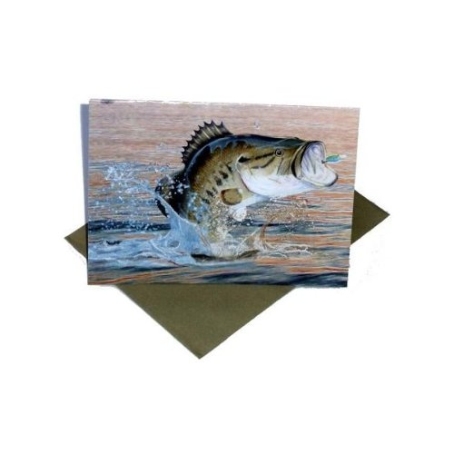 Hunting 'Gone Fishing' Invitations w/ Envelopes (8ct) ()