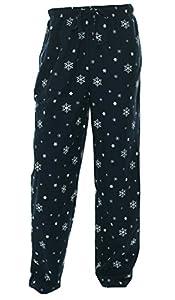 Club Room Men's Novelty Snowflake Print Pajama Pants