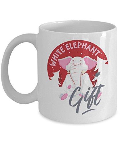 White Elephant Funny Novelty Christmas Holiday Gift Exchange Mug