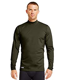 Under Armour Men\'s ColdGear Infrared Tactical Fitted Mock XXX-Large Desert Sand