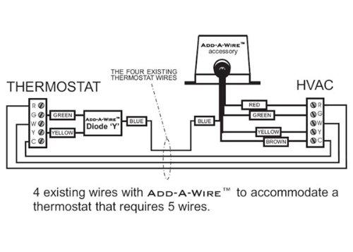 Venstar ACC0410 Add-A-Wire Accessory for All 24 VAC Thermostats (4 to 5 Wires) White: Amazon.com: Industrial \u0026 Scientific