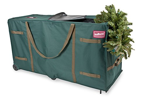 TreeKeeper TK-10773 Greenskeeper 10'-15' Extra Large Christmas Tree Storage Bag with Wheels by TreeKeeper