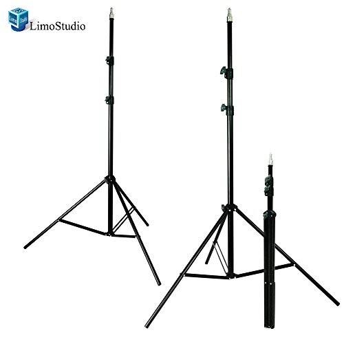 LimoStudio 3 x 7ft Light Stand Photo Video Studio Lighting Photography Stands, AGG1400 by LimoStudio