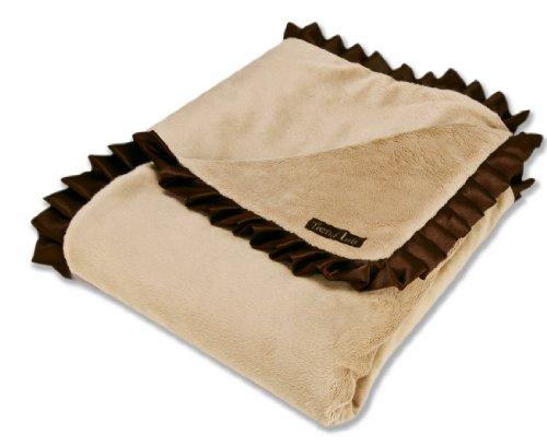 Trend Lab Blanket Caramel Chocolate