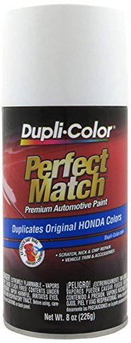 Dupli-Color EBHA09947 White Pearl Honda Perfect Match Automotive Paint - 8 fl. oz. Aerosol -