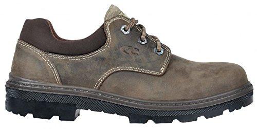 Cofra 25520-000.W41 Tex Bis S3 SRC Chaussures de sécurité Taille 41 Gris