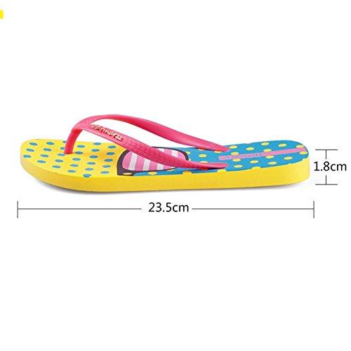 del Beach tacón 1 mujer Summer 8cm Sandals Havaianas pink de Altura Chanclas 04OI8O