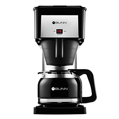 BUNN BX Velocity Brew 10-Cup Coffee Brewer, Black ()