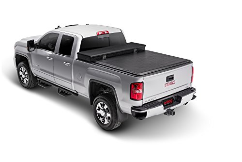 Extang Tool Vinyl Box (Extang 60650 Express Toolbox Roll-up Tonneau Cover - fits Silverado/Sierra (6 1/2 ft) 07-13, 2014-2500HD & 3500HD, works with/without track system)
