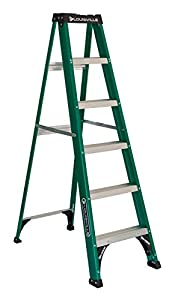 Louisville Ladder Fs4006 Fiberglass Step Ladder Type Ii