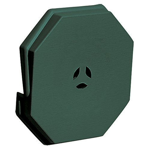 Builders Edge 130110006028 Surface Block 028  Forest Green