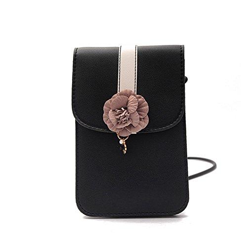Flower Mini Leather Shoulder Bag - 6