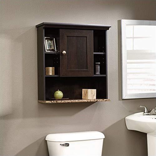 Sauder Peppercorn Wall Cabinet, L: 23.31'' x W: 7.56'' x H: 24.57'', Cinnamon Cherry by Sauder