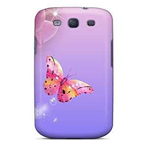 Faded Orchids Case Compatible With Galaxy S3/ Hot Protection Case
