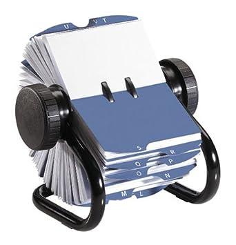 Rolodex Carnet Dadresse Rotatif Classique 200 Cartes De Visite Intercalaires A Z Avec