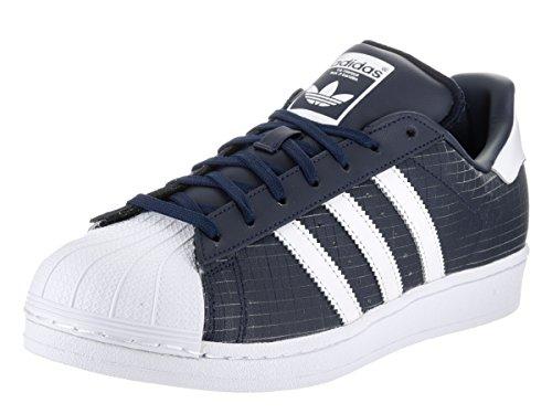 Adidas Uomo Superstar White Navy navy Da Sneakers r80nfWwr