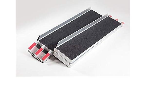 Rampa para patinete con superficie de agarre negro (par ...