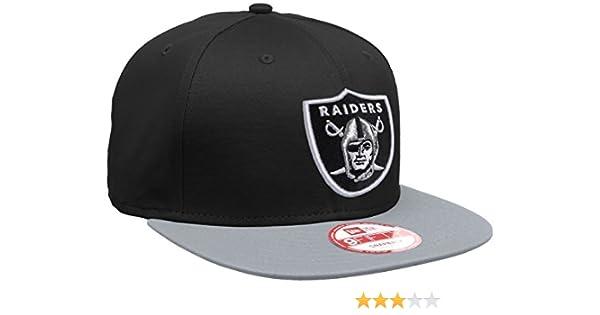 nowy styl życia fabrycznie autentyczne najlepiej autentyczne New Era 9FIFTY Cotton Black Oakland Raiders Snapback Cap