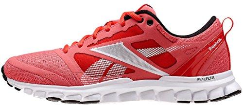 Reebok - Zapatillas de running de material sintético para mujer rojo rojo 36