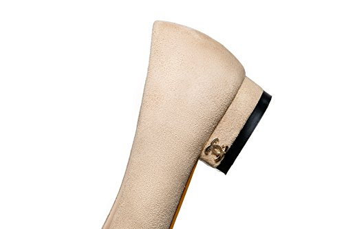 1TO9 1TO9Mms05575 - Sandalias con Cuña Mujer albaricoque