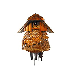 Cuckoo Clock Relif, Horse, Child