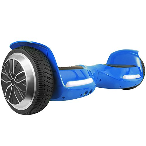 levit8ion ION 6.5″ Hoverboard – Self Balancing Scooter 2 Wheel Electric Scooter – UL Certified 2272 With Bluetooth and LED Lights(Blue)
