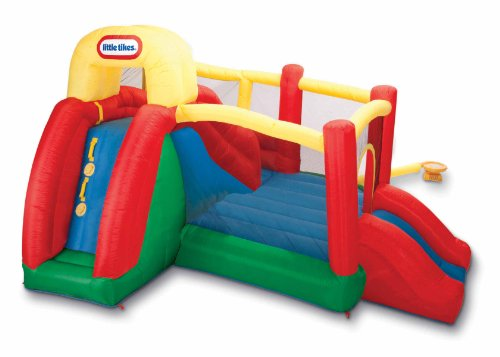 Little Tikes Double Fun Slide 'n Bounce Bouncer