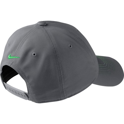 9b67ed1ad07 NEW Nike Contrast Stitch Adjustable Dark Gray Light Lucid Green Hat Cap -  Buy Online in UAE.