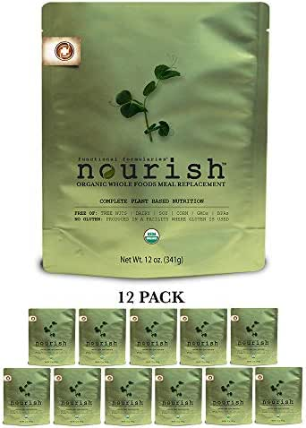 Functional Formularies Nourish 12oz Pouch, 12 Pack