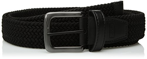 Nike Men's G-Flex Woven Stretch Golf Belt, black, X-Large