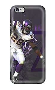 Snap-on Adrian Peterson Football Case Cover Skin Compatible With Iphone 6 Plus