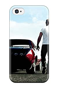 Protective Tpu Case With Fashion Design For Iphone 4/4s (vin Diesel In Fast & Furious 6)