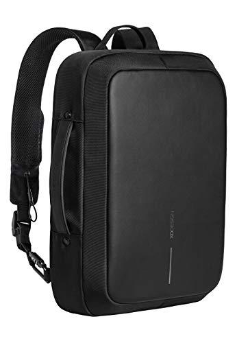 XD Design Bobby Bizz Anti-Theft Laptop Backpack & Briefcase USB (Unisex Bag)