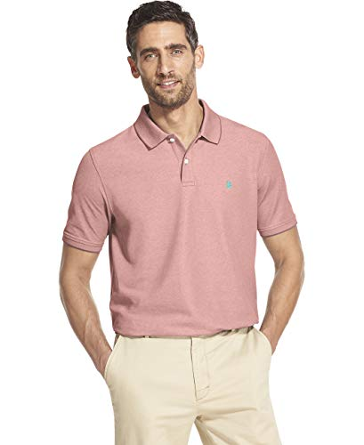 IZOD Men's Advantage Performance Short Sleeve Solid Polo (Discontinued by)