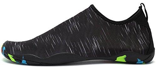 Surf Eagsouni Descalzo Playa Unisex A Agua Buceo de Yoga Para de Calzado Natación Hombres Zapatos Mujeres Negro Rápido Calcetines Secado de Piscina T7TrqFgAw