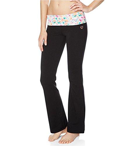 Aeropostale Womens Floral Yoga Pants