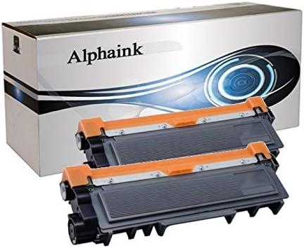 Alphaink AI-KIT2-TN2420 2 Toner CON CHIP compatibile per Brother HL-L2370DN DCP-L2510D HL-L2350DW HL-L2310D DCP-L2530DW MFC-L2710DN MFC-L2730DW MFC-L2750DW MFC-L2710DW HL-L2375DW 3000 copie al 5/%